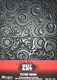 Ranger SUT-34728 Melt Art Texture Tread, Mod Circles