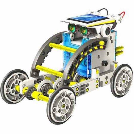 OWI Robotikits 14-in-1 Educational Solar Robot Kit Set of 2 by Elenco* (Image #3)