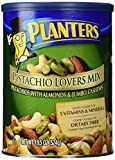 #6: Planters Pistachio Lovers Mix, Salted, 18.5 Ounce Canister