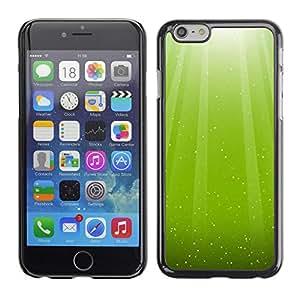 Paccase / SLIM PC / Aliminium Casa Carcasa Funda Case Cover - Nature Beautiful Forrest Green 31 - Apple Iphone 6