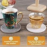 Coasters for Drinks 6Pcs, ABenkle Stylish Handmade