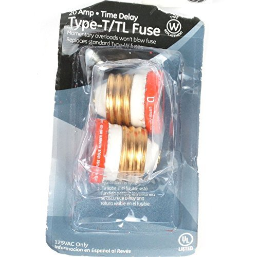 General Electric T Tl Time Delay Fuse  Pack Of 5