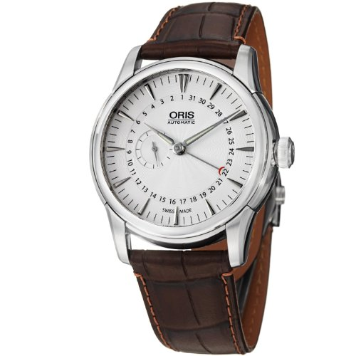 Oris Artelier Automatic Small Second Pointer Date Stainless Steel Mens Watch 01 744 7665 4051-07 1 22 73FC
