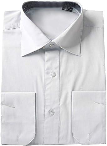 Omega Camisa de Vestir de Manga Larga para Hombre, Ajuste Regular, Color Liso, 16-16.5 N: 36-37 S, Color Morado