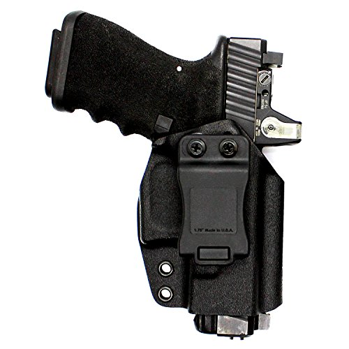 KAOS Fusion 2.0 IWB or OWB Minimalist Concealed Carry Boltaron Holster - Compatible with Sig P320