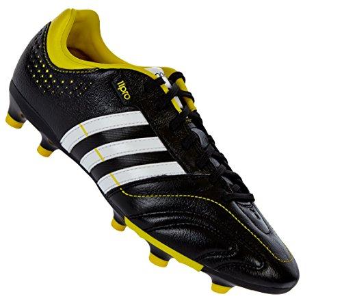 adidas Adipure 11NOVA TRX FG Black/Running White/Vivid Yellow 10 D(M) US - Adipure Trx Fg