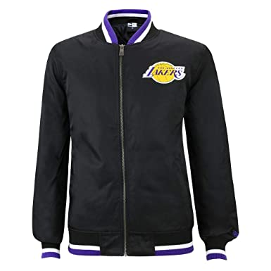 New Era NBA Team Varsity Chibul Blk Chaqueta, Hombre: Amazon ...