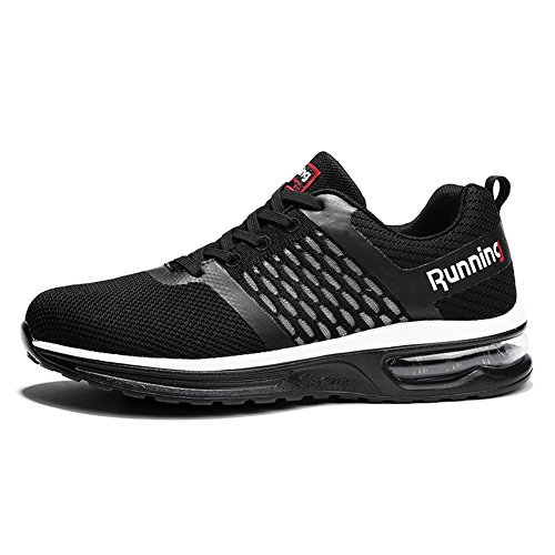 Women's Air Jogging Running Outdoor Sport Men's Shoes Sneakers Black Cushion d7wSdPZ