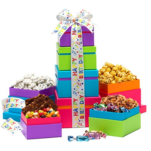Broadway Basketeers Tower Birthday Wishes product image