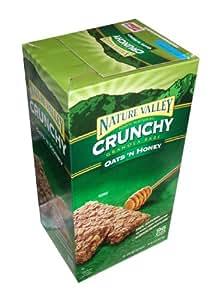 Nature Valley Crunchy Granola Bars Oats 'N Honey, 98-Count 1.49oz bars