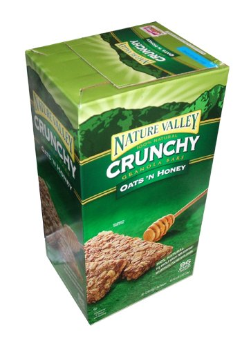 Nature Valley Crunchy Granola Bars Oats 'N Honey, 98-Count 1.49oz bars