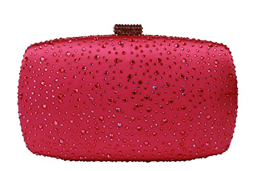 Yilongsheng, Damen Clutch Pink Rose