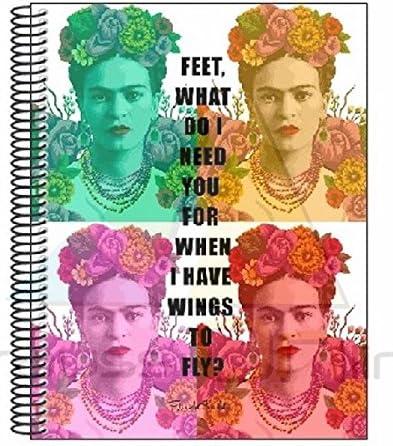 Frida Kahlo Cuaderno Bloc A4 Micro con 120 Hojas (SAFTA 561646064 ...