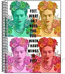 Frida Kahlo – Notebook Notepad A4 Micro with 120 Sheets (SAFTA 561646064)