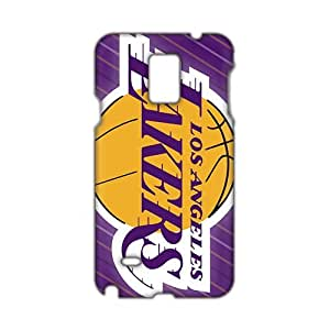 WWAN 2015 New Arrival lakers logo 3D Phone Case for Samsung NOTE 4