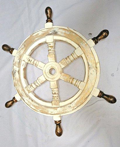 Antique Whitewashed Golden 16
