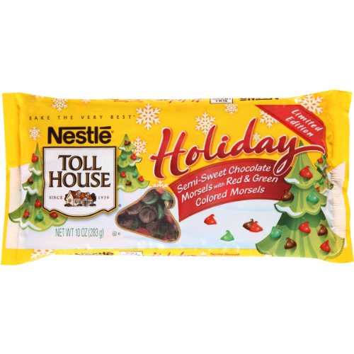 nestle-toll-house-holiday-semi-sweet-red-and-green-morsels-10-ounce-pack-of-24