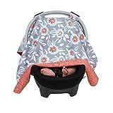 Balboa Baby Reversible Car Seat Canopy - Grey Dahlia by Balboa Baby