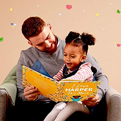 Personalized Storybook - I Love You This Much | Wonderbly (Hardcover) : Baby