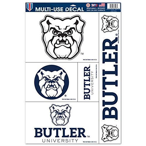 WinCraft Butler Bulldogs Ultra Decal Set - 11'' X 17''
