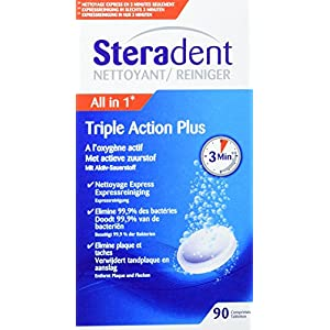 STERADENT - STERADENT 60+30 TRIPLE AC 10