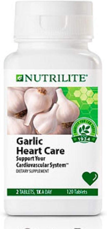 Nutrilite Garlic Heart Care Formula – 120 Count