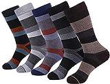 Marino Mens Patterned Dress Socks, Colorful Fun