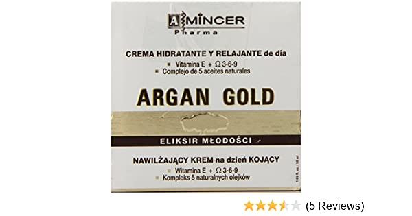 Amazon.com: Mincer Argan Gold Youth Elixir Moisturising and Soothing Day Cream, 1.69 Oz. (50 ml).: Beauty