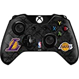 NBA Los Angeles Lakers Xbox One Controller Skin - Los Angeles Lakers Dark Rust Vinyl Decal Skin For Your Xbox One Controller