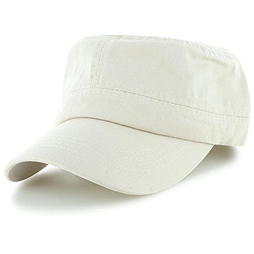 Beige_(US Seller)Military Style Caps Hat Unizex Bucket (Aphrodite Costume Child)