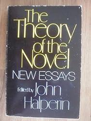 Theory of the Novel: New Essays