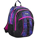 Fuel Sport Active Multi-Functional Backpack, Black/Hot Pink/Galaxy Print
