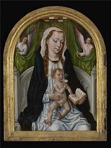 [Oil Painting 'Master Of The Legend Of St. Ursula,Diptych With The Virgin And Child And Three Donors,1486' Printing On High Quality Polyster Canvas , 16x21 Inch / 41x54 Cm ,the Best Foyer Artwork And Home Decoration And Gifts Is This High Quality Art Decorative Canvas Prints] (Masters Of The Universe Movie Costumes)