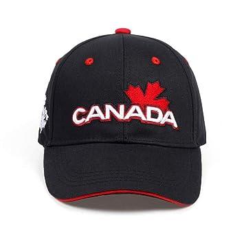 FBXYL Canadá Carta Algodón Bordado Gorras De Béisbol ...