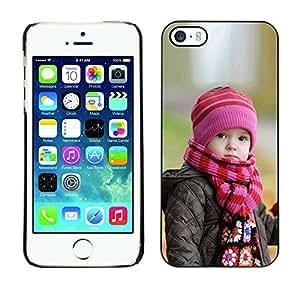 Cubierta de la caja de protección la piel dura para el Apple iPhone 5 / 5S - Bullseye Bulls Eye Match Target