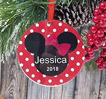 Paw Patrol Christmas Ornaments Personalized.Amazon Com Weewen Personalized Christmas Ornaments Paw