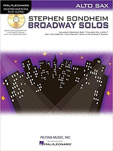 stephen sondheim broadway solos clarinet hal leonard instrumental play along