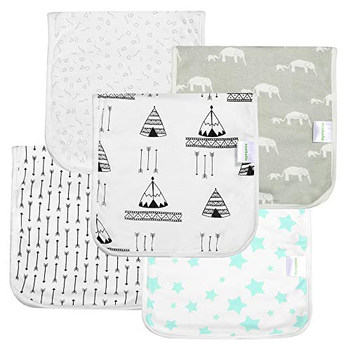- Baby Burp Cloths for Girls and Boys,Extra Large 21