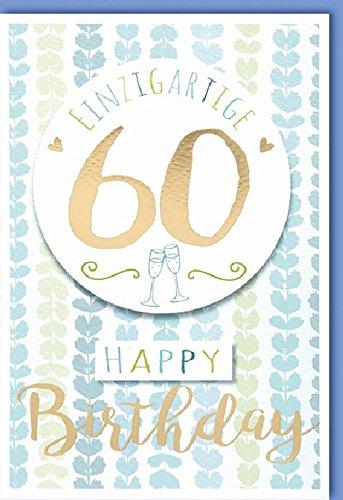 Tarjeta cumpleaños número 60 N-incomparable 60 - Cantidad 5 ...
