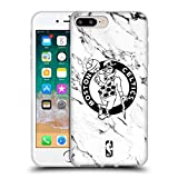 Official NBA White Marble 2018/19 Boston Celtics Soft Gel Case for iPhone 7 Plus/iPhone 8 Plus