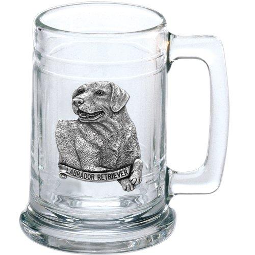 Heritage Metalworks ST4100 15 oz Labrador Retriever Glass