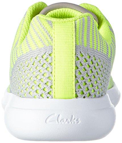 ClarksSprintKnit Jnr - Zapatillas Niñas Gris (Grey Combi)