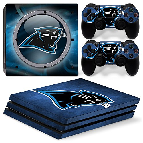 FriendlyTomato PS4 Pro Console and DualShock 4 Controller Skin Set - Football NFL - PlayStation 4 Pro Vinyl