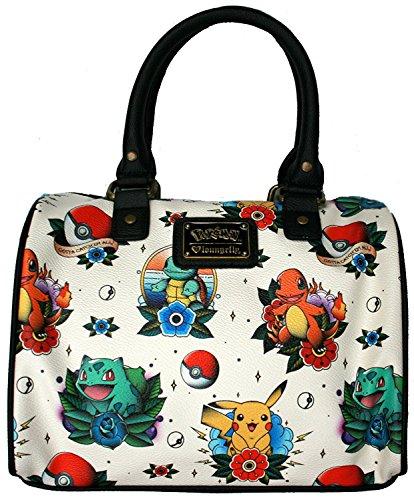 (Pokemon Original Starters Faux Leather Cross Body Bag Standard)