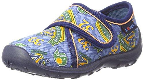 Rohde Boogy, Zapatillas de estar Por Casa Para Niños azul (navy)