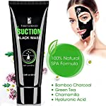 Piero Lorenzo Blackhead Remover Mask, Blackhead Peel Off Mask, Face Mask, Bamboo Activated Charcoal Peel-Off Mask Blackhead Mask, Black Mask Deep Cleaning Facial Mask for Face Nose 60gram BM