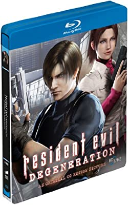 Resident Evil: Degeneration Steelbook Blu-ray German Import: Amazon.es: Cine y Series TV