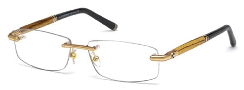 Montblanc Eyeglasses MB491 028 Size 58 Shiny Rose Gold Wood 491  Amazon.ca   Clothing   Accessories f701821b8417