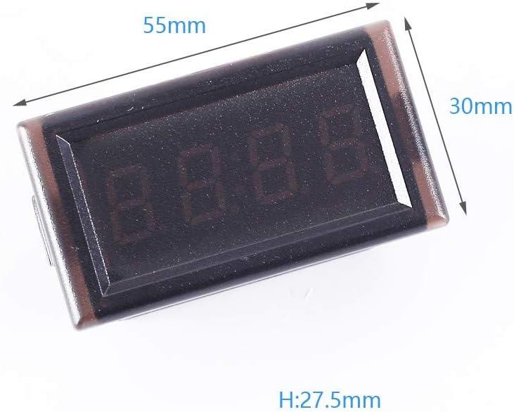 24 Heures Mini Voiture Horloge /Électronique LED Compteur dAffichage Num/érique 12V Contr/ôle /à Chaud Kit de Bricolage /à 4 Chiffres MEROURII Horloge /Électronique de Voiture