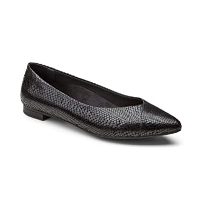 Vionic Women's Caballo Ballet Flat - Ladies Dress Shoes with Concealed Orthotic Support | Flats